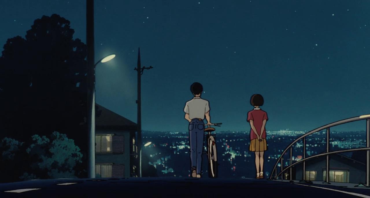 Whisper of the Heart Studio Ghibli Aesthetic anime