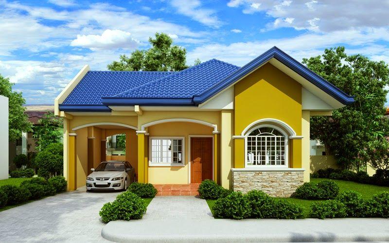 Pin de marilu en patrones fachada casa peque a casas for Modelos de casas pequenas y bonitas