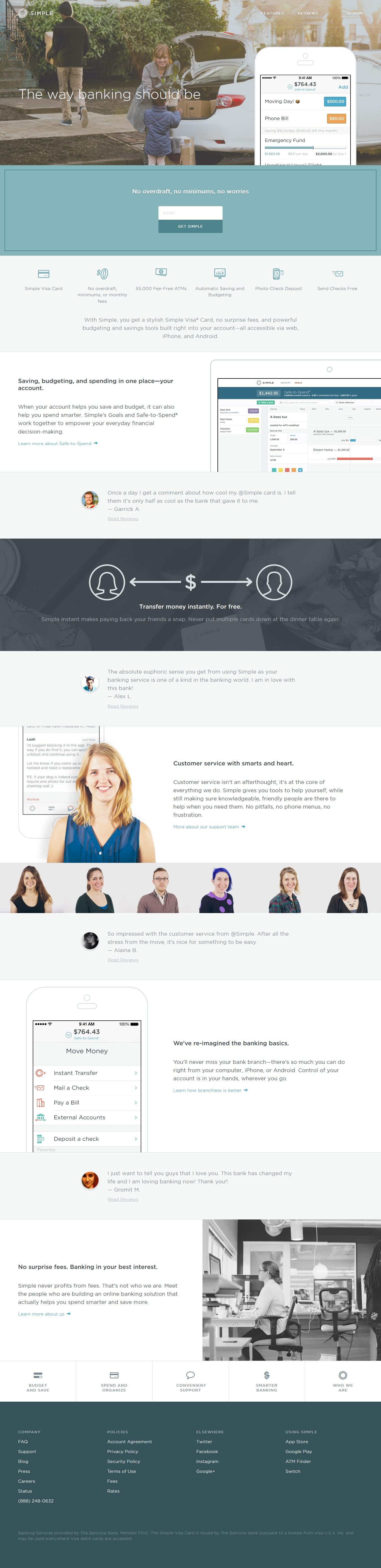 Simple Landing Page Simple But Lacks Clarity Landing Page