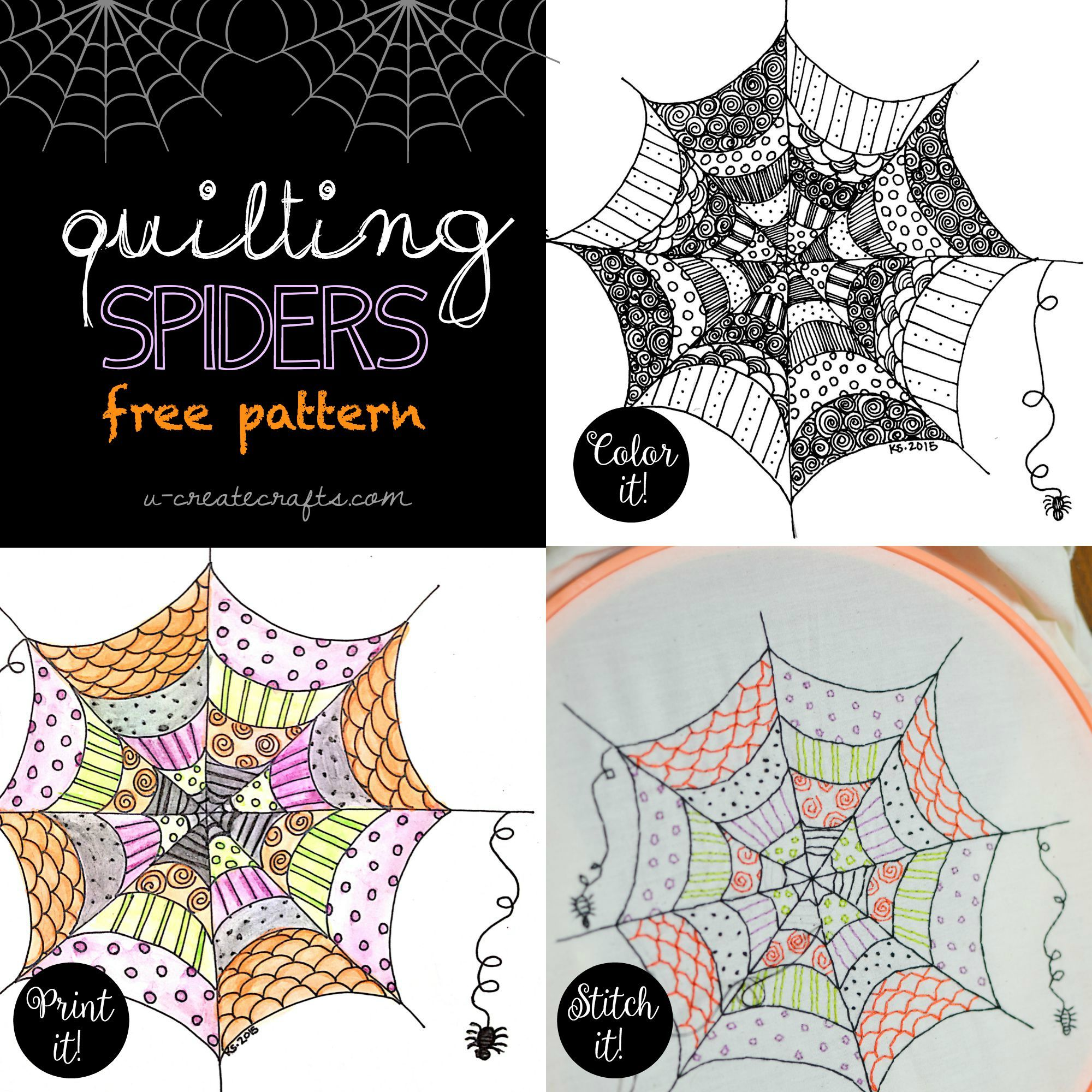 Quilting Spiders\