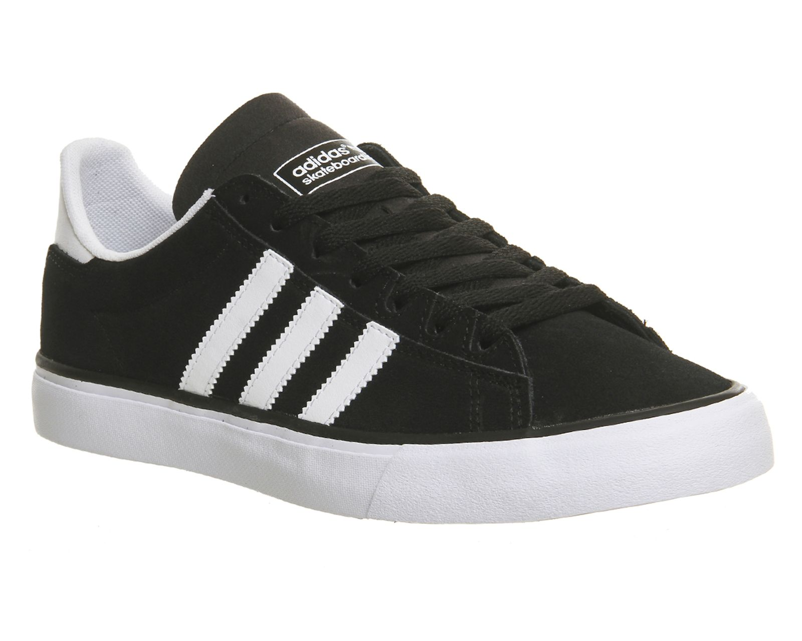 more photos be679 f8d40 Buy Black White Gum Adidas Campus Vulc Ii from OFFICE.co.uk.