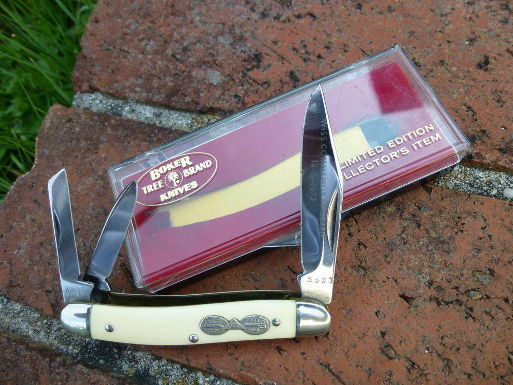 Vintage Boker Tree Brand Limited 83113 Knife Wiss Commemorative LTD