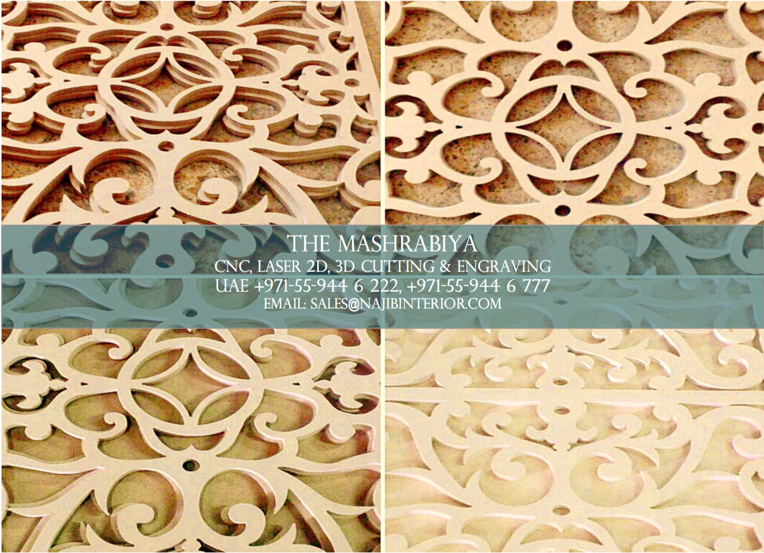 Pin von NID UAE (3D Walls) auf Mashrabiya | Pinterest