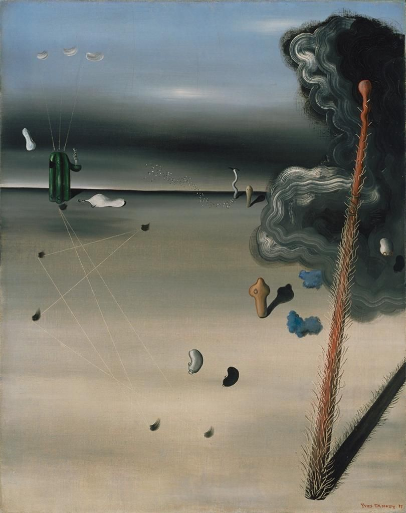 Yves Tanguy - Mama, Papa is Wounded.