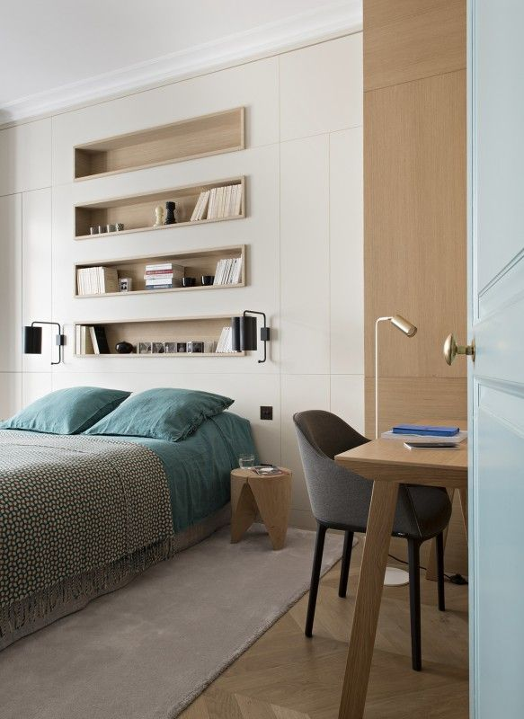 appartement paris 6 double g appartements projets wwwdoubleg - idees deco chambre parentale