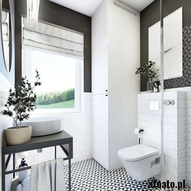 """Studio Projektowe Atoato on Instagram: """"Prosta i elegancka łazienka a może troszkę retro? co wybieracie?  #interiordesign #designer #style #homedecor #home #interior123 #poland…"""" - #atoato #azienka #elegancka #instagram #projektowe #prosta #studio - #Wohnkulturskandinavier"""