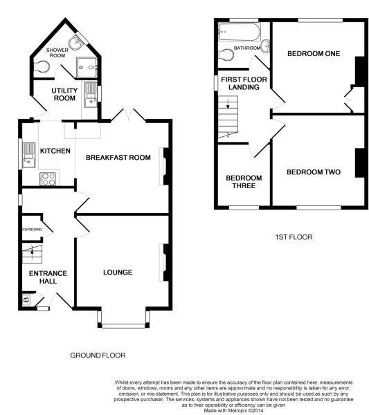 Semi Detached Floor Plans: 1930's UK Semi-detached House