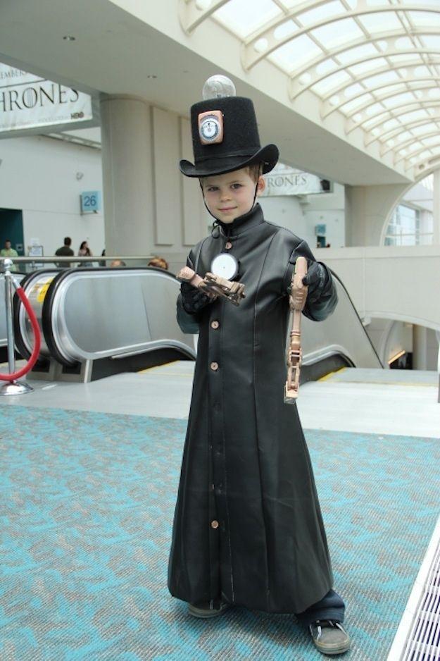 31 Super Cute Photos Of Cosplay Kids Steampunk Kids