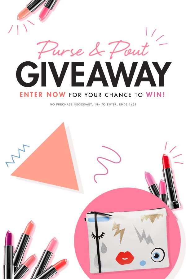 A good lipstick and a solid handbag are just the thing to get you through another workweek. Lucky for you, we are offering one fan the chance to win just that. Click the link to enter for YOUR chance to win: http://bit.ly/15Cu0sm   No pur. nec. Ends 1/29. 18+ Official Rules: http://bit.ly/1z2c9We