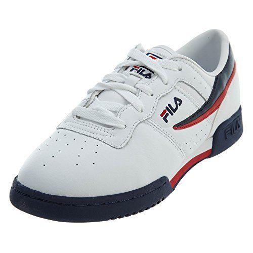 f6524eed5ba3 Fila 3VF80105-150   Boys Original Fitness White Navy Red Sneakers (6.5