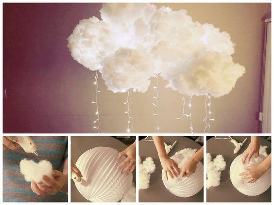 Comment fabriquer une lampe nuage • Echantillons gratuits en ...