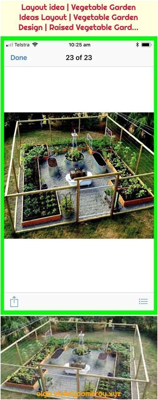75 Stunning Backyard Vegetable Garden Design Ideas 23 stunning backyard vegetable garden design ideas Source by  2 Layout idea  vegetable garden design Layout idea  Veget...
