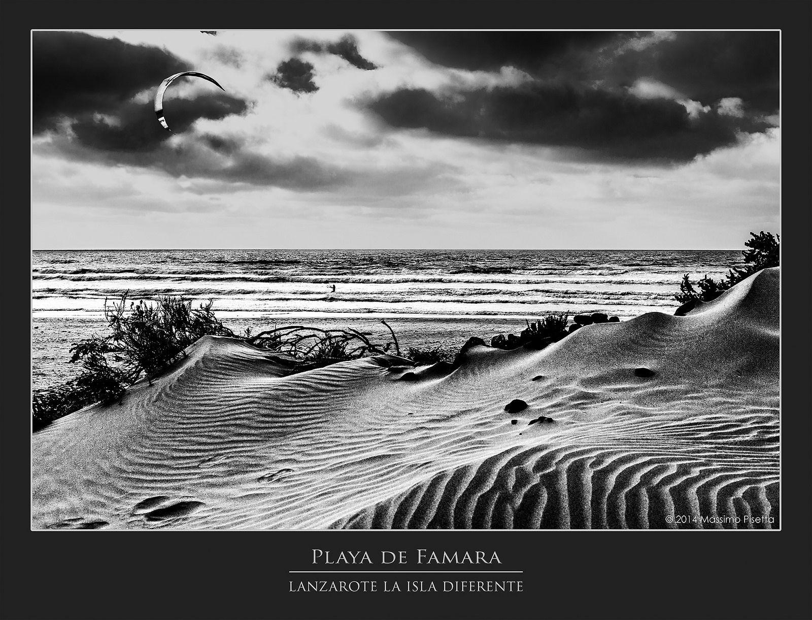 https://flic.kr/p/qwqGQR | Playa de Famara @Lanzarote | Playa de Famara @Lanzarote BW; FF; 24-105mm @45,0mm; 1/160 sec.; f/10,0; ISO 200 ©2014 Massimo Pisetta Photography