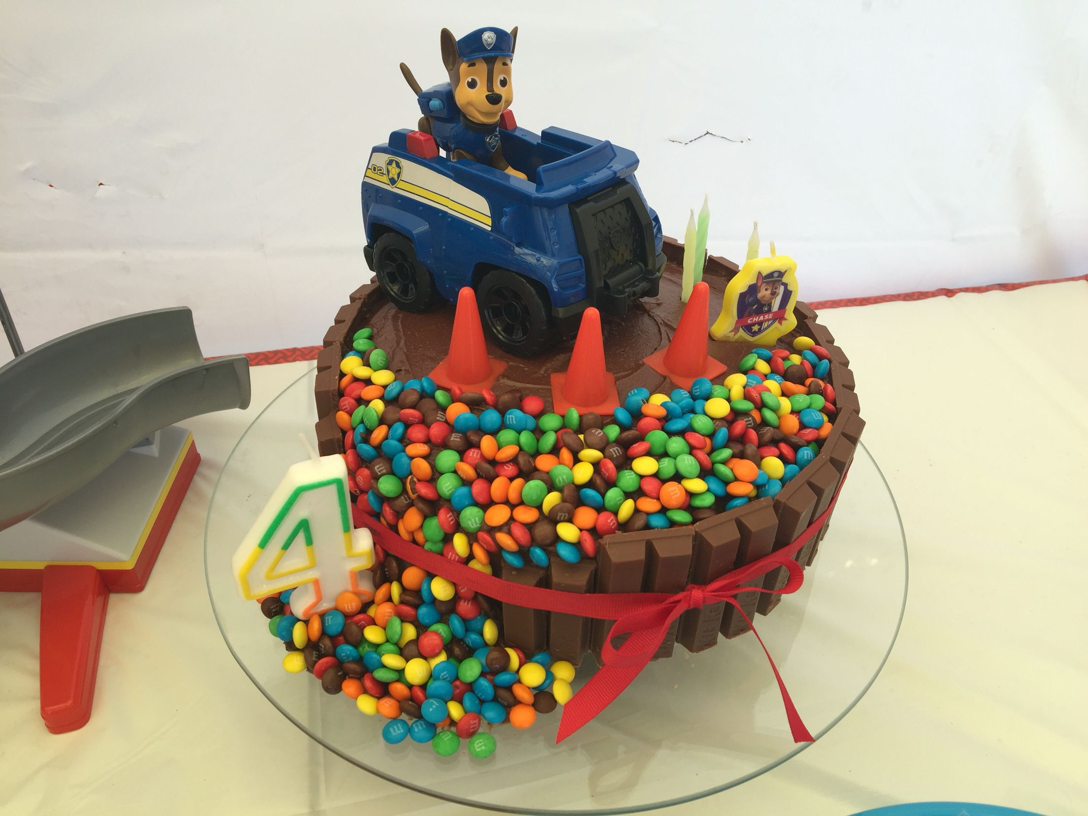 Homemade Paw Patrol Chase Cake Cool House Inteiror Ideas