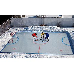 Arctic Ice Backyard Ice Skating Rink In Texas Good Only In January And February Lol Backyard Hockey Rink Backyard Ice Rink