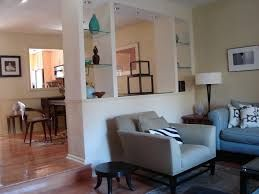 Image Result For Half Wall Between Living Room And Dining