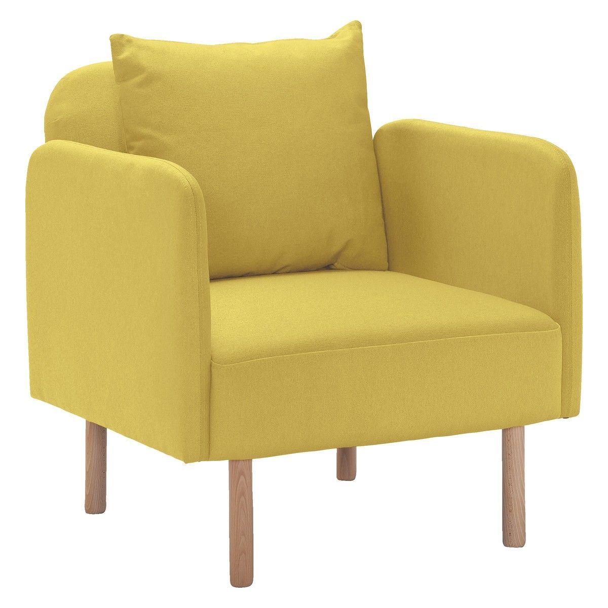 FINO Saffron fabric armchair