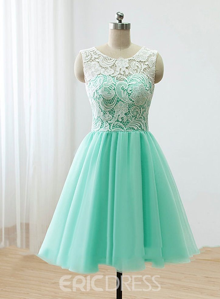 A Line Mini Prom Dresses