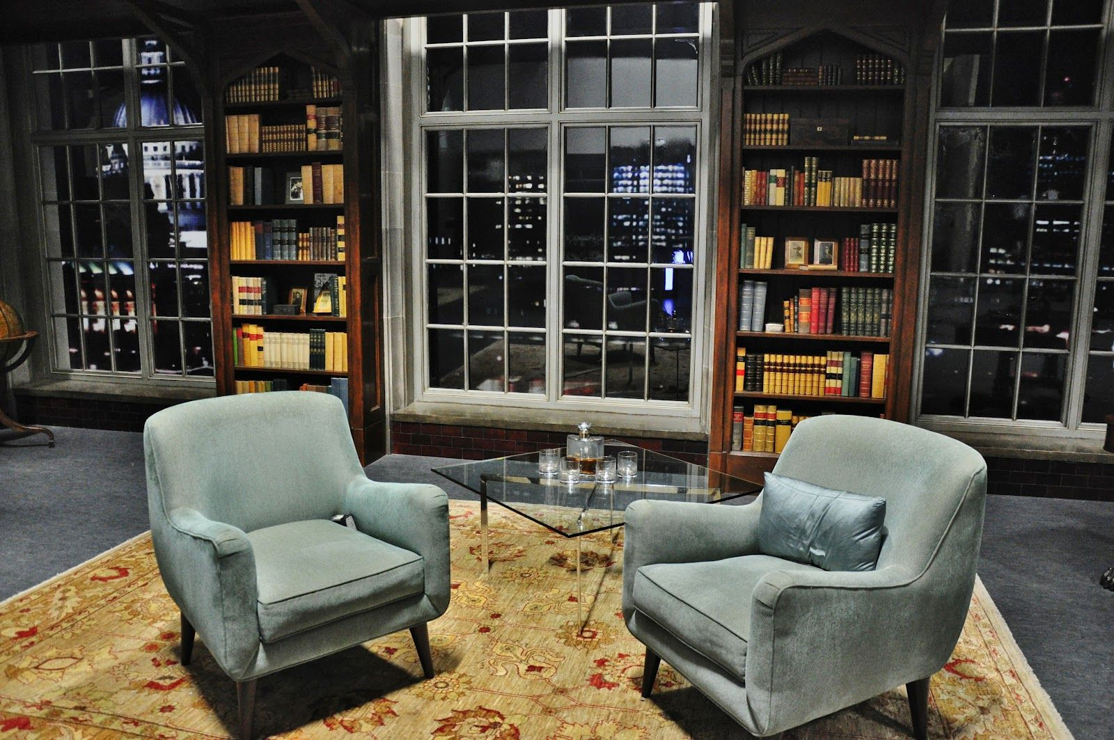late night talk show set - Google Search