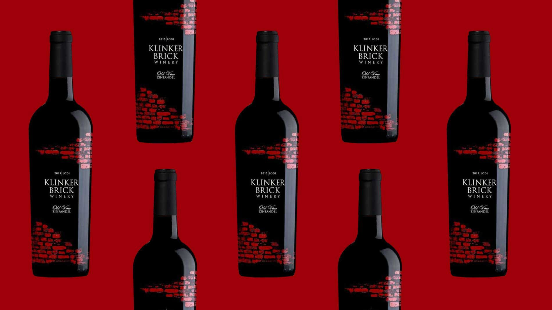 2015 Klinker Brick Old Vine Zinfandel Is The Most American Of West Coast Red Wines Zinfandel Red Wine Brick
