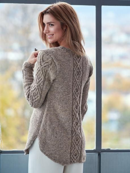 Oydis Sweater (Pattern) - Linda Marveng | tejidos | Pinterest ...