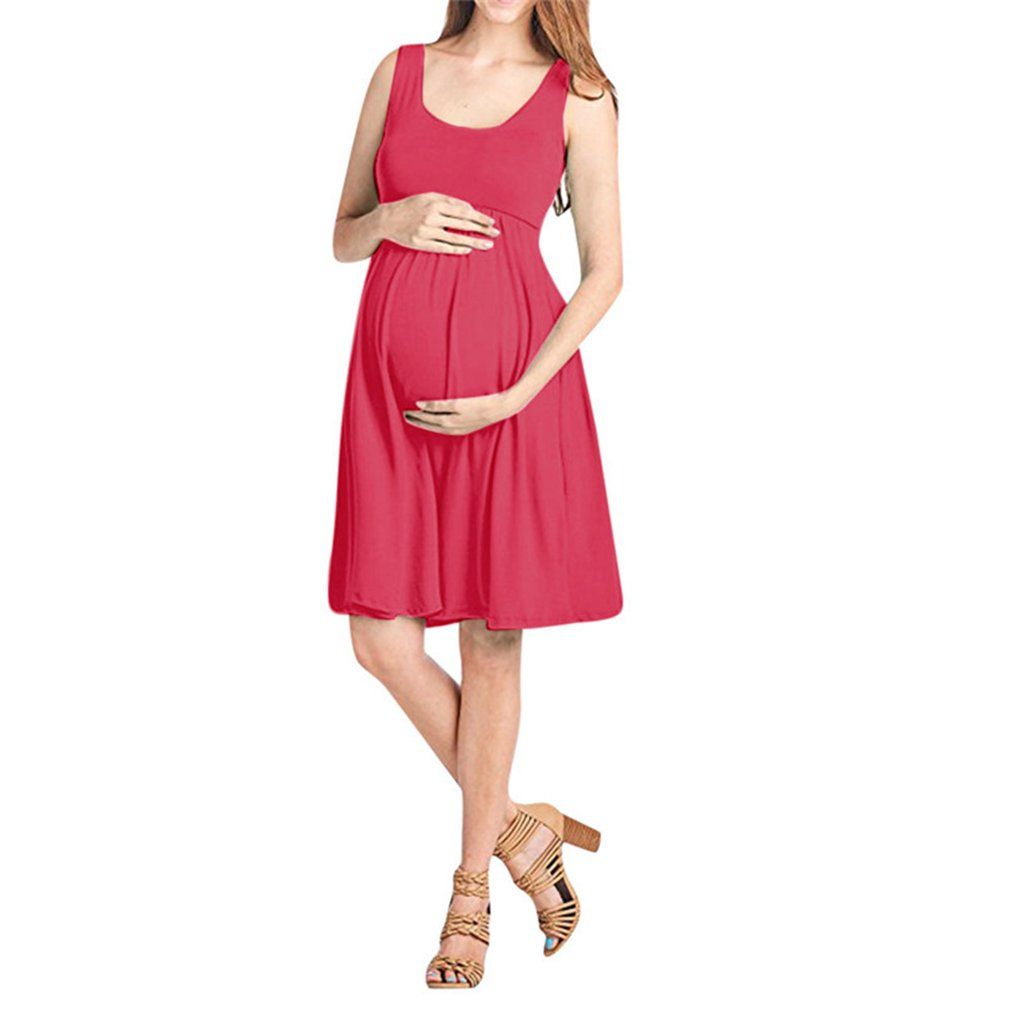 6f30cf7993cb Maternity Fashion - sensible maternity maxi dress   Nat Terry Maternity  Dresses Fashion Summer Pregnancy Nursing Solid Sleeveless Vest Dress     Want extra ...