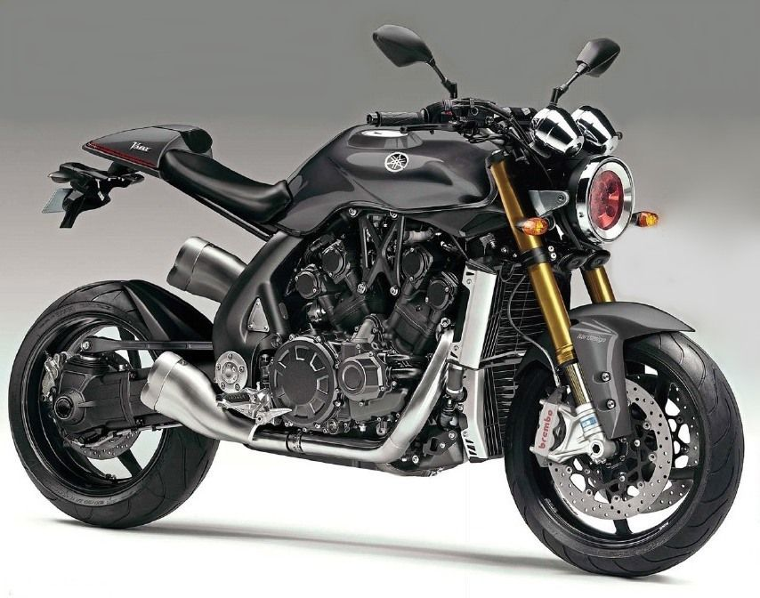 yamaha v-max café racer concept ! | cafe bike awesomeness | new