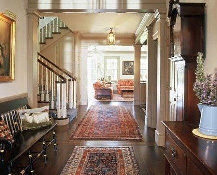 Traditional Hall By Gast Architects Area Rugs Define The Eake Them Look Cozier In This Ious Entry