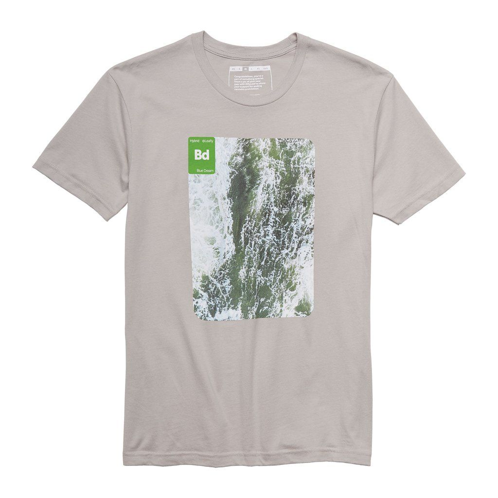 Leafly Blue Dream Vibe TShirt Leafly Store Blue dream