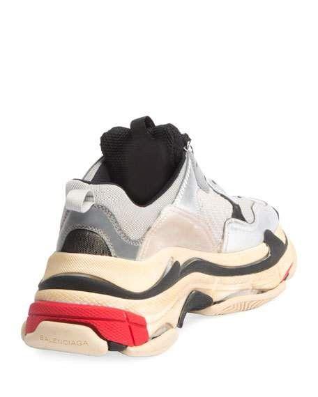 4e01d03ae42b Triple Multicolor Platform Sneaker