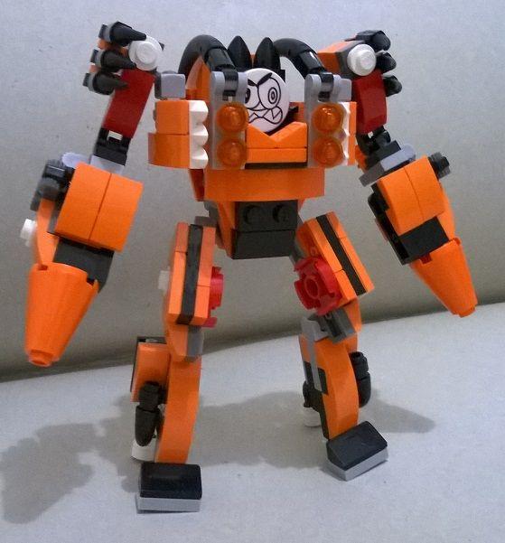 Flexers Mech Made From Mixels Lego Devons Legos Pinterest