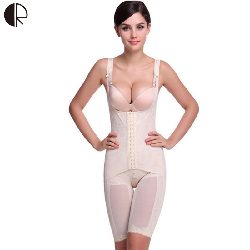 311ef754a5c1a Hot Intimates Full Body Shaper Corset Bamboo Underwear Waist Training  Corsets Bodysuit Women Girdles Body Shapers