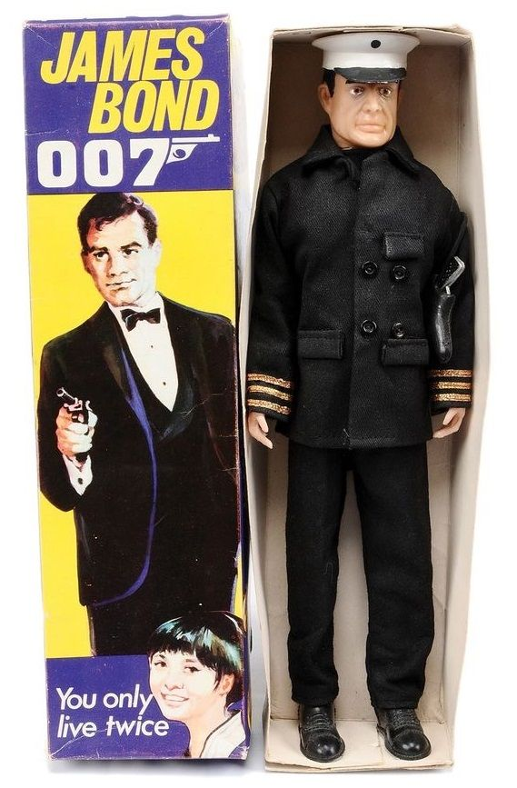 Cecil Coleman 'You Only Live Twice' James Bond action figure.
