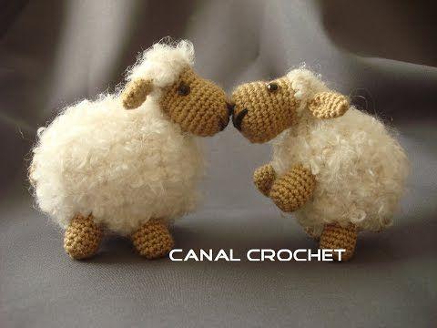 Ovejas Puff Como Pomponcitos Tejidas A Crochet Amigurumi