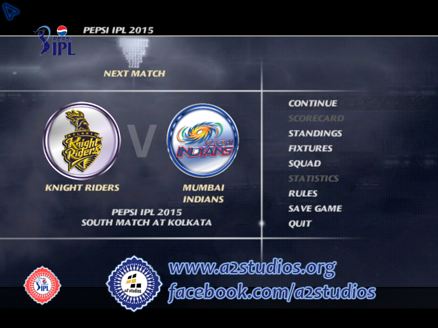 Pepsi Ipl 8 Unleashed Patch For Ea Sports Cricket 07 Now Released Cricket Sport Ipl Champions Trophy