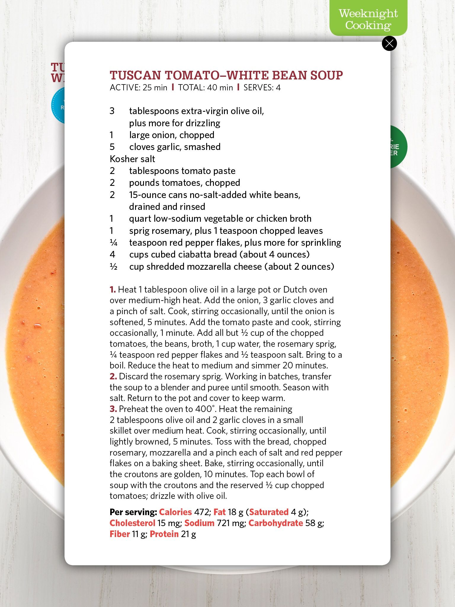 Pin by pam rochford on soups pinterest recipe cards soups and tuscan bean soup white bean soup veggie food food networktrisha recipe cards tomato soups soup recipes tomatoes september 2014 forumfinder Choice Image