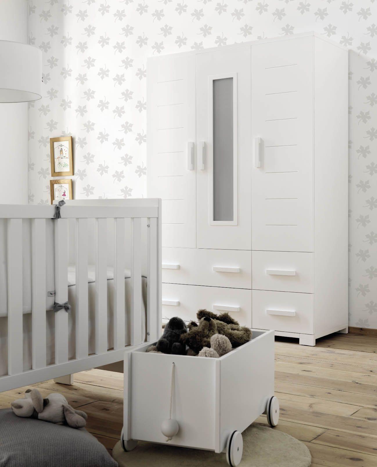 Cunas de madera para bebés #decoracion #blancas #nordica | Muebles ...