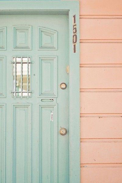 5 inspirations pour peindre le porte du0027entrée Déco   Decor