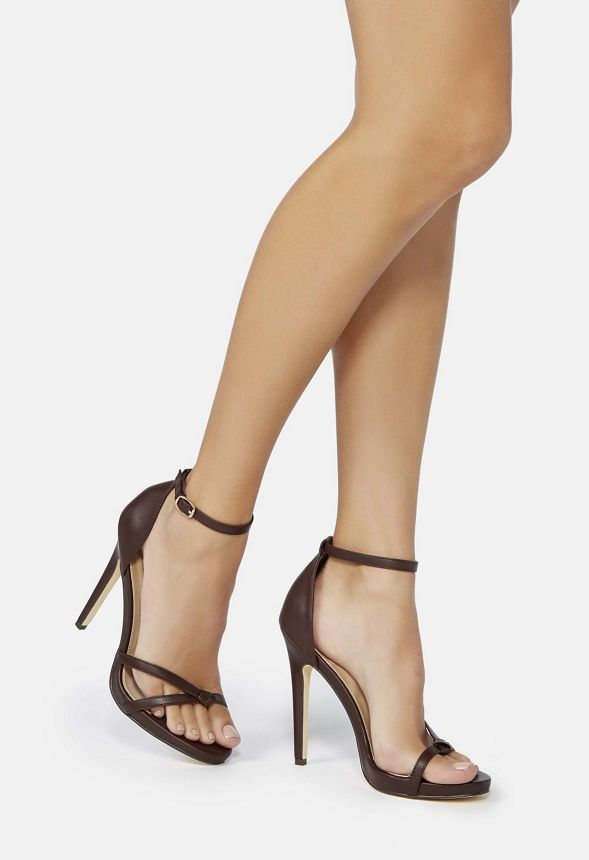 Miss KG Swirled Strappy Heeled Sandal   Strappy sandals