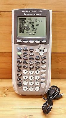 Texas Instruments Ti 84 Plus Silver Edition Graphing Calculator