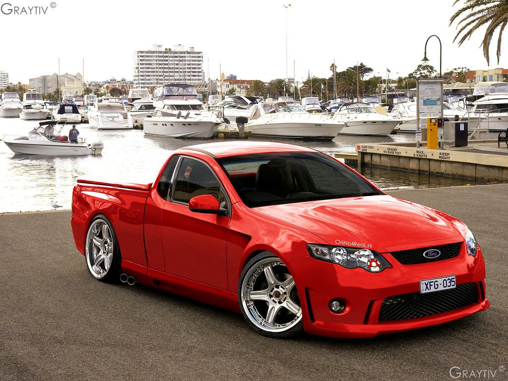 Ford Falcon Xr8 Ute  Aussie Rods Customs  Muscle Cars