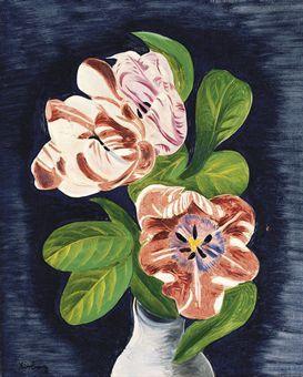 moise kisling | MOISE KISLING (1891-1953) | Vase de tulipes | Impressionist & Modern ...