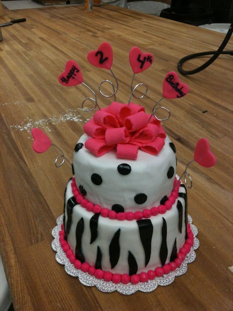 My 24th Birthday Cake Stressedi Mean Desserts Pinterest