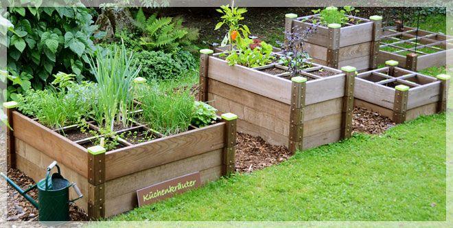 Quadratop Hochbeete Gartnern Im Quadrat Garten Gartnern Und