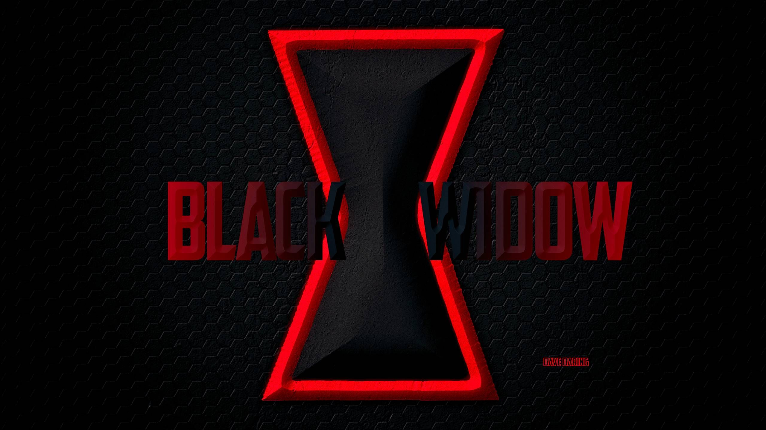 Marvel Black Widow Logo Black Widow Symbol By Dave Black