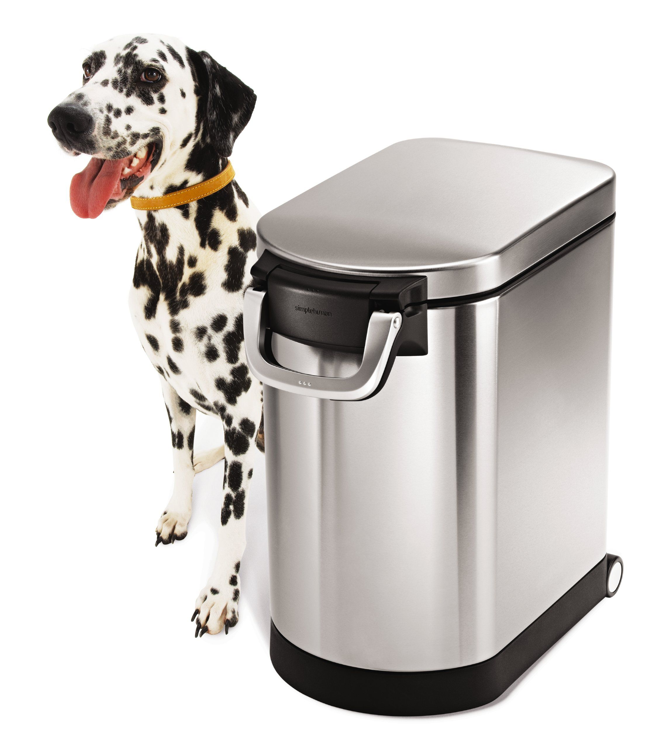 Amazon Com Simplehuman Large Pet Food Storage Can Brushed