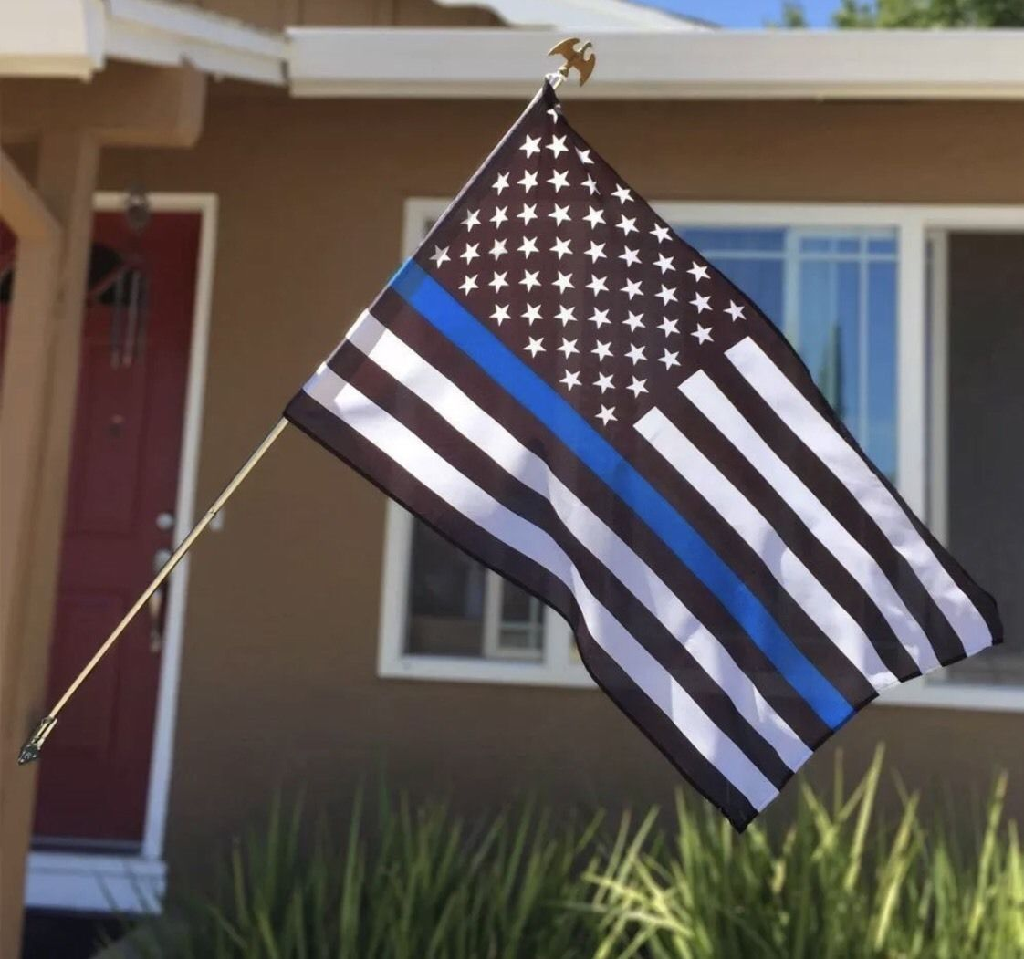 Thin Blue Red Line USA Police /& Fire Respect and Honor Law Enforcement Flag 3x5