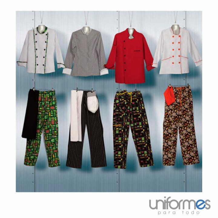 ¿Cuál te gustaría para tu marca? #UniformesparaTodo #Restaurantes #Chefs #Colombia www.uniformesparatodo.com