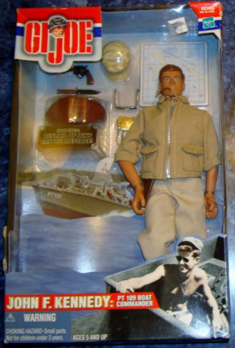 Hasbro GI Joe John F. Kennedy PT 109 Boat NEW 2000 Action Figure 12 inch GI-Joe