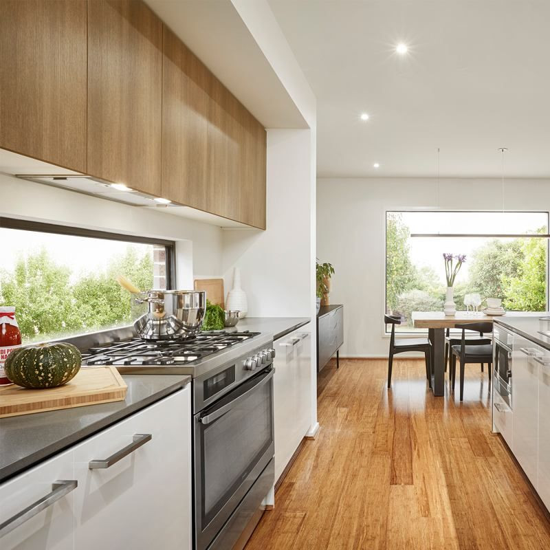 A Kitchen Fairhaven: Project: Tathra 350 Display Home